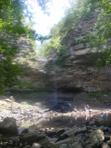 2009 0815 132056 cedarfalls Petit Jean   Cedar Falls Trail
