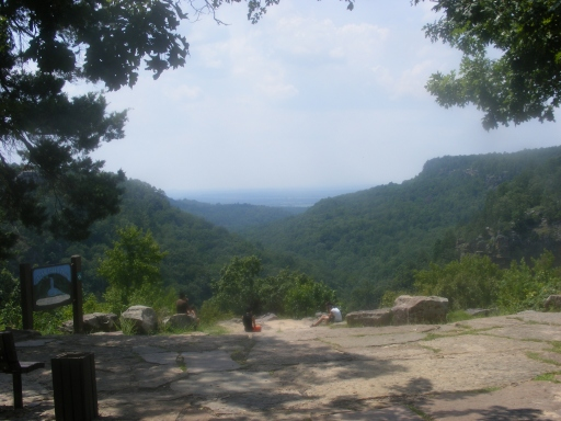 2009 0815 141753 cedar fallsTH Petit Jean   Cedar Falls Trail