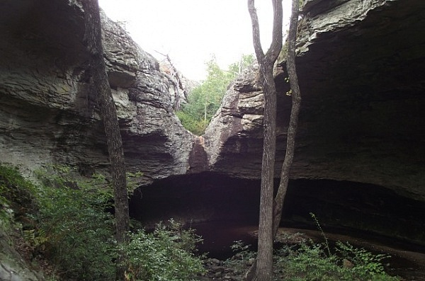 Petit Jean: Seven Hollows Trail - 4 mi photo