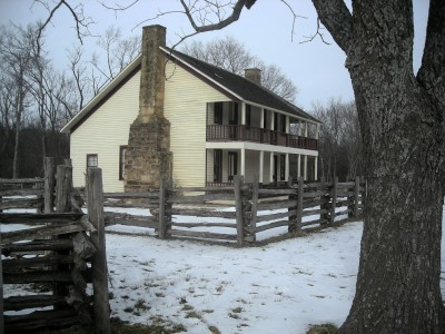 Pea Ridge National Military Park Hiking 2011 photo