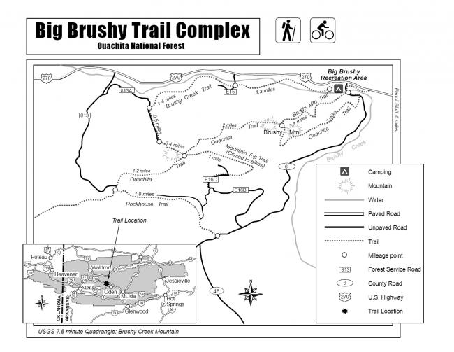 Brushy Creek Trail Loop (Ouachita Forest) - 7 mi | Arklahoma
