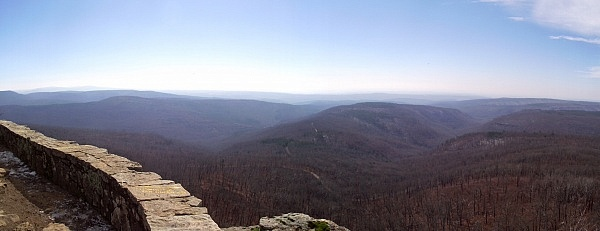 White Rock Mountain Winter Photos (Ozark Forest) 2013 photo