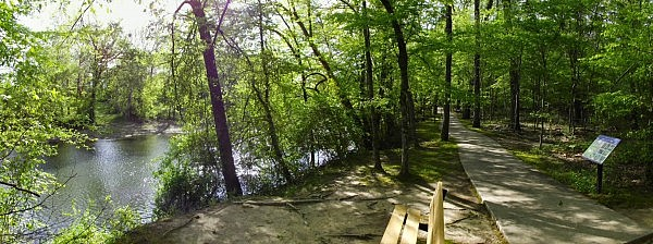River Trail - Crater of Diamonds State Park