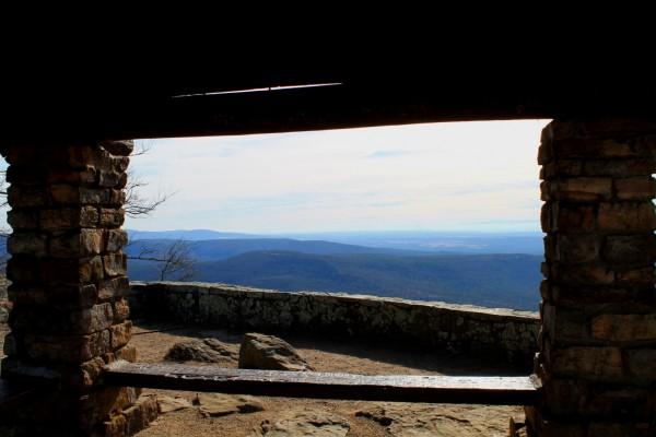 White Rock Mountain Rim Trail Photos (Ozark Forest) 2014 photo