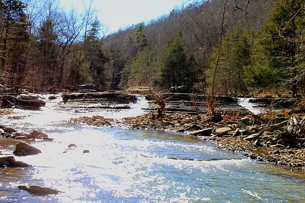 Six Finger Falls (Richland Creek Wilderness, Ozark Forest) photo