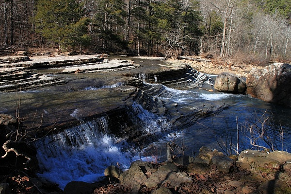 Six Finger Falls (Richland Creek Wilderness, Ozark Forest) photo