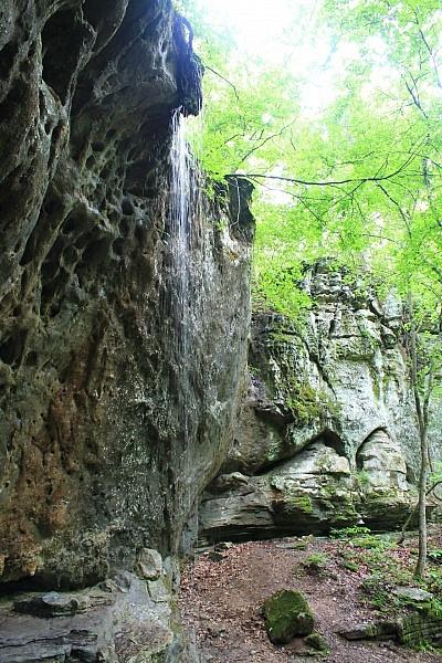 Buffalo Point: Indian Rockhouse Trail Photos photo