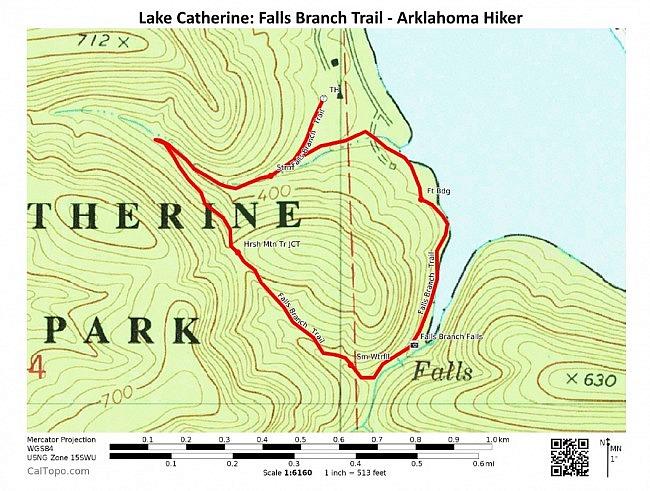 Lake Catherine: Falls Branch Trail + Falls Creek Falls - 2mi photo
