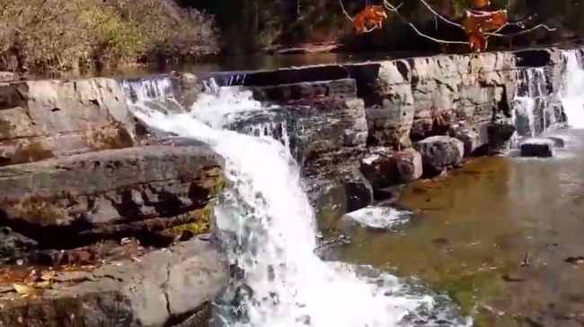 Natural Dam Falls Video (Ozark Forest) photo