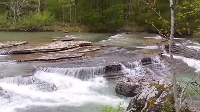 Six Finger Falls Video (Falling Water Creek, Ozark Forest) photo