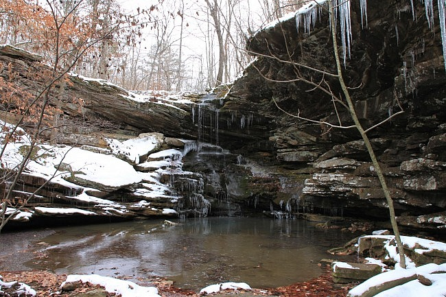 Magnolia Falls (Upper Buffalo Wilderness, Ozark Forest) photo