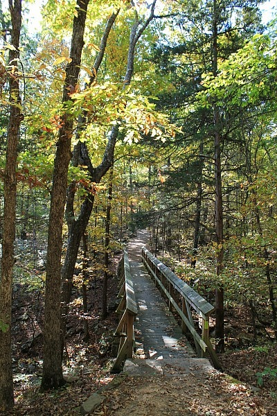 Lake Fort Smith: Warren Hollow Trail – 1 mi (o&b) photo