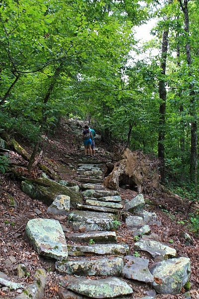 Mount Nebo: Nebo Steps/Nebo Springs Trails Loop - .5 mi photo
