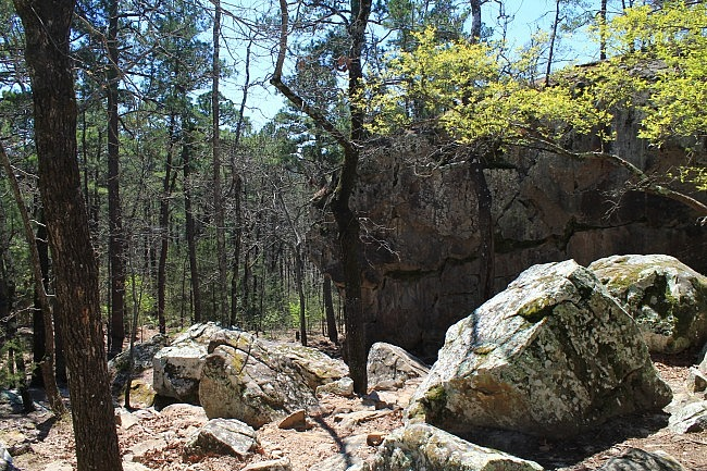 Robbers Cave Nature Trail -- .5 mi photo