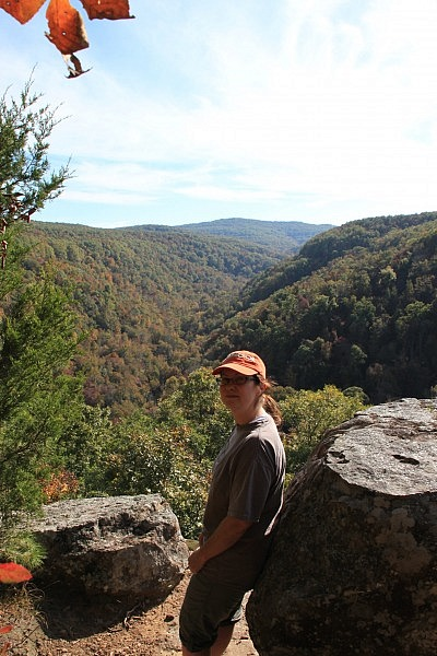 Hawksbill Crag (Whitaker Point) Trail (Ozark Forest) – 3 mi (o&b) photo