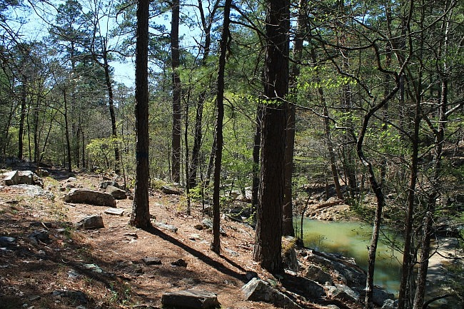 Robbers Cave: Rough Canyon Trail - 3 mi photo