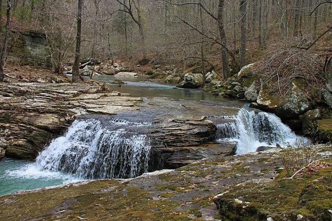 Big Creek Cave Falls (Ozark Forest) photo