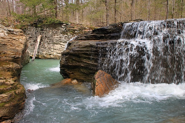 Big Creek Cave Falls (Ozark Forest) photo