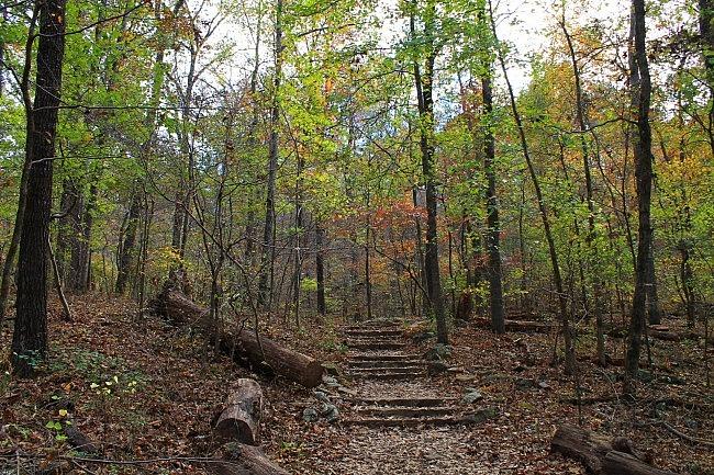 Devil's Den Self-Guided Trail + Twin Falls - 1 mi photo
