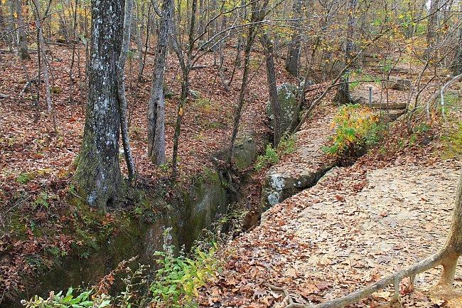 Devil's Den Self-Guided Trail Pics + Twin Falls photo