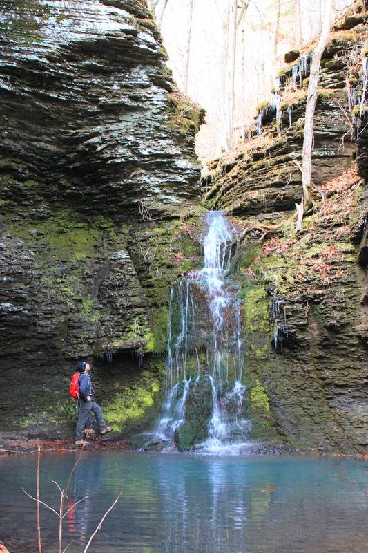 Arkansas waterfalls guidebook