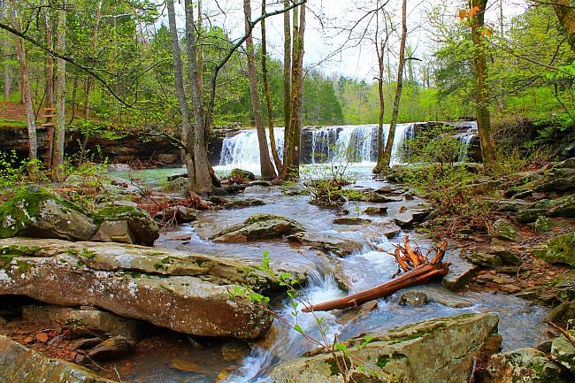 Falling Water Falls Pics (Ozark Forest) photo