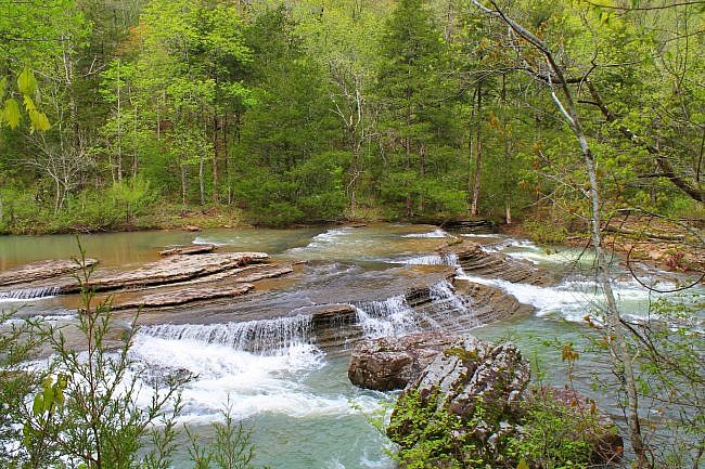 Six Finger Falls Pics (Richland Creek Wilderness, Ozark Forest) photo