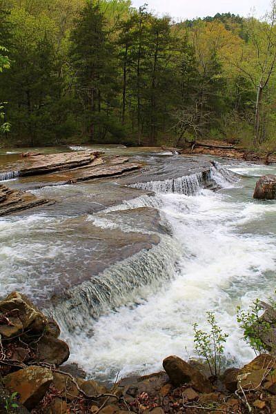 Six Finger Falls Pics (Richland Creek Wilderness, Ozark Forest) photo